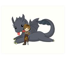 How to train your dragon [Ultimate] Art Print