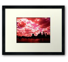Lake Michigan, Chicago, IL 1.02 Framed Print