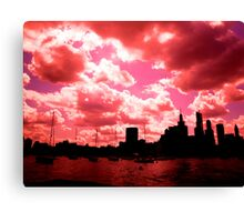 Lake Michigan, Chicago, IL 1.02 Canvas Print