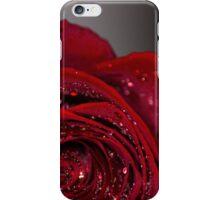 Red Rose macro 2 iPhone Case/Skin