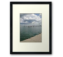 Lake Michigan, Chicago, IL 02 Framed Print