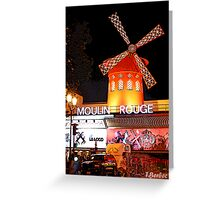 Moulin Rogue Greeting Card