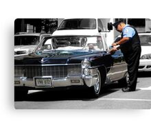Cadillacs, Cops, & Chicago Canvas Print