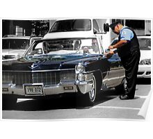 Cadillacs, Cops, & Chicago Poster