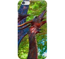 Metal Dragon Water Fountain iPhone Case/Skin