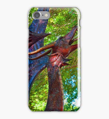 Metal Dragon Water Fountain iPhone Case/Skin