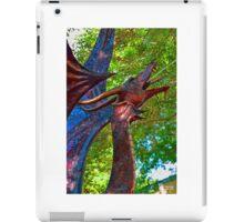 Metal Dragon Water Fountain iPad Case/Skin