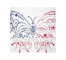 American Patriotic Dots Butterfly Flag  Scarf