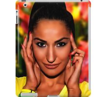 Yellow Angel Fine Art Print iPad Case/Skin