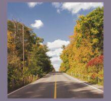 Autumn Road to Nowhere 2 Kids Tee