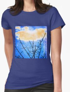 Reach for the Sky Womens Fitted T-Shirt