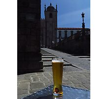 Quench Your Thirst With Super Bock ! Photographic Print