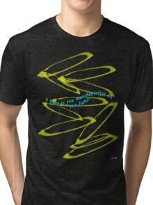 a halo Tri-blend T-Shirt