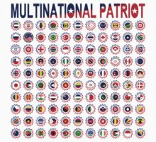 Multinational Patriot Flag Collective 1.0 Kids Clothes