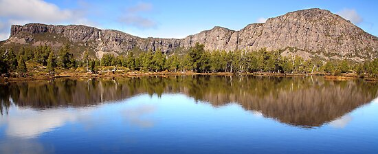 Pool of Siloam, Walls Of Jerusalem, Tasmania, Australia by Michael Boniwell