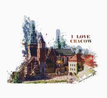 I love Cracow Wawel Castel Baby Tee
