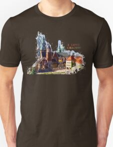 I love Cracow Wawel Castel T-Shirt