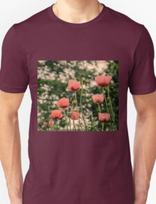 Pink Poppy in late everning light T-Shirt