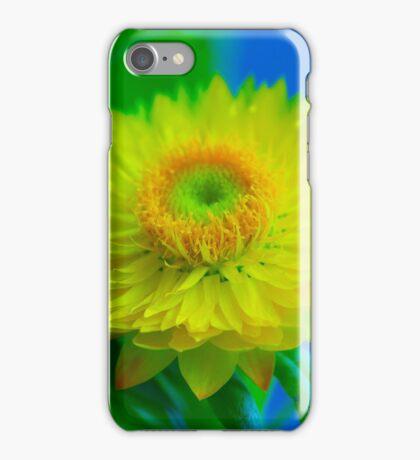 Fuzzy Yellow iPhone Case/Skin