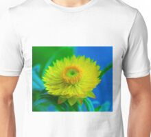 Fuzzy Yellow Unisex T-Shirt