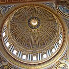 Inside St Peter's Dome by Al Bourassa