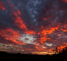 Blazing Clouds by David F Putnam