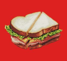 Ham Sandwich Pattern Kids Clothes