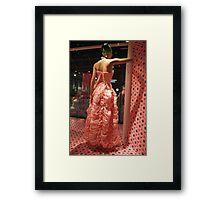 Cottonelle Dress Framed Print