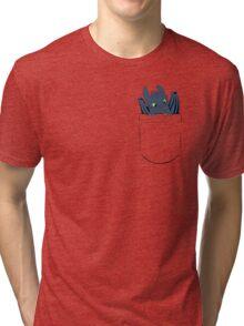 Pocket Toothless Tri-blend T-Shirt