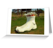 A Foot Greeting Card