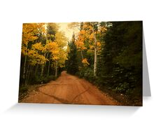 A Love For Fall Greeting Card