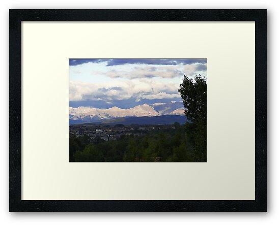 Sunshine On The Rockies by Al Bourassa