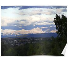 Sunshine On The Rockies Poster