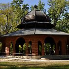 Gazebo at Pettibone Park, La Crosse, Wisconsin by laxwings