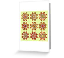 Tomato Foot Flowers Greeting Card