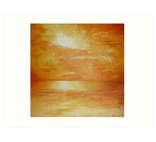 Indian Ocean Sunset Art Print