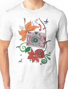 Photographer style Unisex T-Shirt