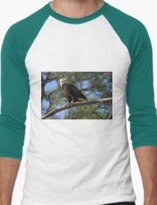 Eagle stare Men's Baseball ¾ T-Shirt