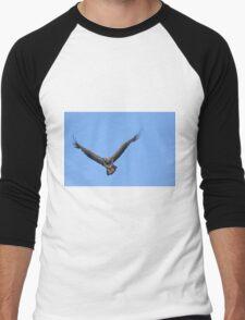 Juvenile Bald Eagle Men's Baseball ¾ T-Shirt