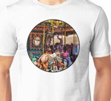 Merry Go Round With Elephants Unisex T-Shirt