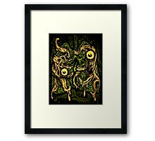 Zombie Lungs Framed Print
