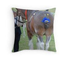 Plaited up - Royal Melbourne Show - Series (9) Throw Pillow