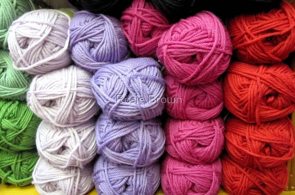 Let's Knit by Rosie Brown