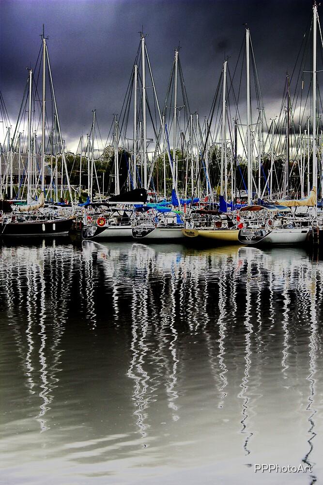 Mast Reflections by PPPhotoArt