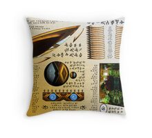 Page of the Space Manual Throw Pillow