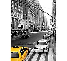 Big Yellow Taxi Photographic Print