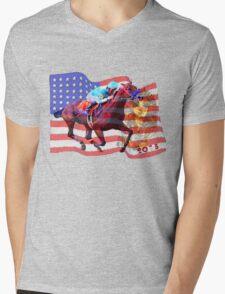 American Pharoah 2015 Mens V-Neck T-Shirt