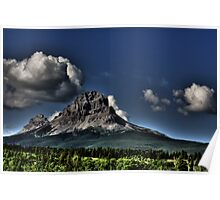 Storm Clouds Over Crowsnest Poster