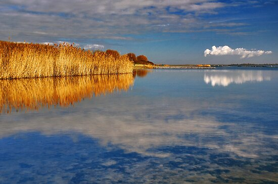 Colors of Lake Grevelingen by Adri  Padmos