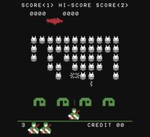 District 9 v Space Invaders arcade by Greg Tippett